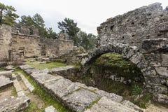 The ancient ruins of Seleucia Stock Image