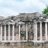 Ancient ruins in Side, Turkey Stock Photography