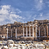 Ancient ruins in Side Turkey Royalty Free Stock Images