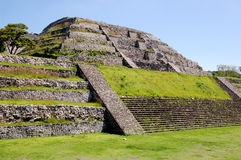 Ancient Ruins. Ancient stone ruins in Mexico Royalty Free Stock Photography
