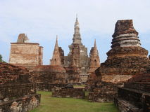 Ancient Ruins of Sukhothai Royalty Free Stock Images