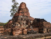 Ancient Ruins of Sukhothai Stock Image