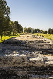 Ancient ruins in Syracuse, Sicily, Italy Royalty Free Stock Images