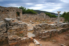 Ancient ruins, Thassos, Greece Royalty Free Stock Photography
