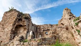 Ancient ruins, timelapse stock video footage
