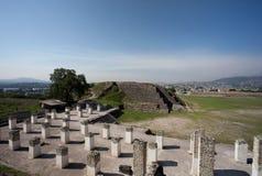 Ancient ruins of Tula de Allende Stock Photos