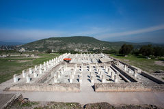 Ancient ruins of Tula de Allende Royalty Free Stock Photo