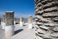 Ancient ruins of Tula de Allende Royalty Free Stock Image