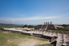 Ancient ruins of Tula de Allende Royalty Free Stock Images