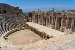 Ancient ruins in Turkey Royalty Free Stock Images