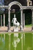 Ancient ruins of Villa Adriana, Tivoli, Italy. Ancient ruins of Villa Adriana ( The Hadrian's Villa ), Canopo, Tivoli, Italy Royalty Free Stock Image