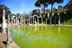 Ancient ruins of Villa Adriana, Tivoli, Italy Stock Photos