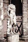 Ancient ruins of Villa Adriana, Tivoli, Italy Royalty Free Stock Images