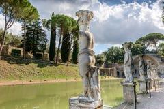 Ancient ruins of Villa Adriana, Tivoli, Italy Stock Photography