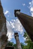 Ancient ruins of Villa Adriana, Tivoli, Italy Royalty Free Stock Photography