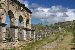 Morocco, Volubilis Stock Images