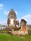 Ancient ruins - wat phra sri rattana mahathat lop buri Royalty Free Stock Image
