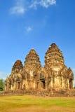 Phra prang Sam Yot pagoda Stock Images