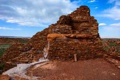 Ancient ruins. Wupatki National Monument in Arizona stock photography