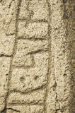 Ancient Rune Stone Stock Photography