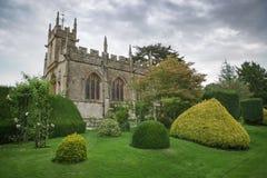 Ancient rural church, England Stock Photos