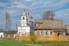 Ancient Rural church Royalty Free Stock Photos