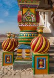 Ancient Russian architectural style Royalty Free Stock Photography