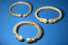 Ancient Russian Bracele Stock Photo