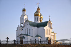 Ancient Russian church Royalty Free Stock Image