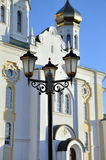 Ancient Russian church Stock Photos