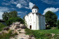 Ancient russian church Royalty Free Stock Photography