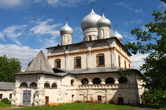 Ancient Russian church Stock Photography