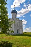 Ancient Russian Church stock photo