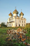 Ancient russian church Voskresenskaya in Kargopol Stock Image