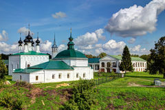 Ancient Russian churches in Suzdal Stock Photos