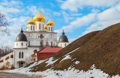 Ancient Russian city Dmitrov Stock Photography