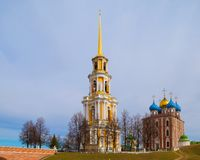 Ancient Russian city of Ryazan Royalty Free Stock Image