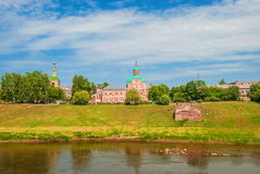 Ancient Russian city of Smolensk stock images
