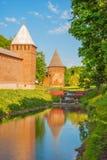 Ancient Russian city of Smolensk royalty free stock photos