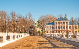 The ancient Russian city of Uglich royalty free stock photo