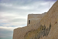 Ancient Russian fortress- Izborsk fortress royalty free stock images