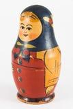 Ancient Russian Matryoshka (nested doll) Royalty Free Stock Image