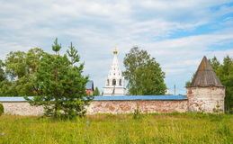 Ancient Russian Monastery Royalty Free Stock Photography