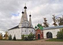 Ancient russian monastery in Uglich Stock Images