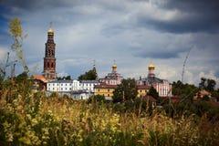 Ancient russian monastery Royalty Free Stock Photo