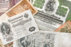 Ancient russian money Royalty Free Stock Image
