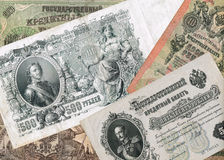 Ancient russian money Stock Images