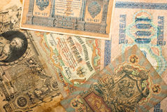 Ancient russian money Royalty Free Stock Photos