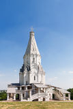 Ancient Russian orthodox Church of the Ascension, Kolomenskoye, Moscow. Stock Photo