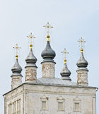 Ancient Russian Orthodox church Royalty Free Stock Images